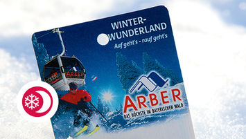 Flutlicht-Ski-Ticket Junior
